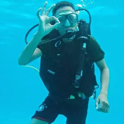 Hobi Scuba Diving, Saya Penyelam